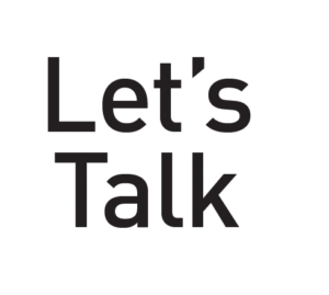 let's talk logo georganiseerd door howest communicatiemanagement