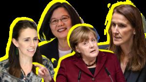 lowest communicatiemanagement over crisiscommunicatie corona style - it's all about women