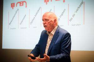 Pieter Vereertbrugghen, managing partner van agency Cypres en voorzitter van CUSTO op Let's Talk Content