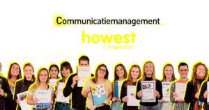 portretten derdejaars communicatiemanagement en track C studenten van Howest, hogeschool West-Vlaanderen campus Kortrijk
