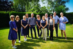 foto van het team docenten van de opleiding communicatiemanagement aan howest in kortrijk