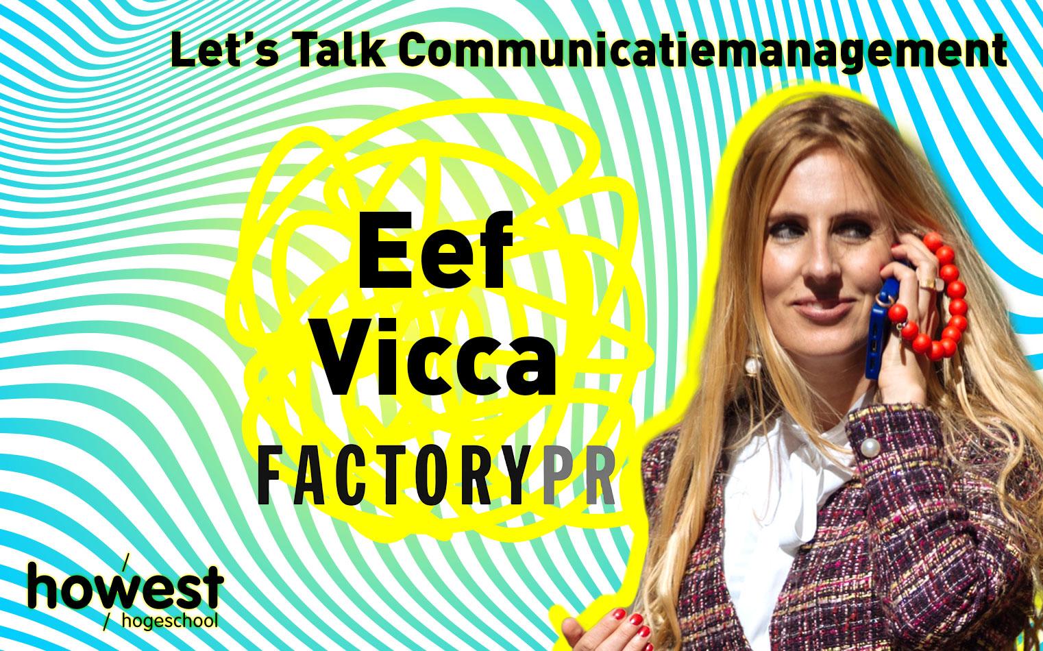 foto van Eef Vicca voor Let's Talk Communicatiemanagement