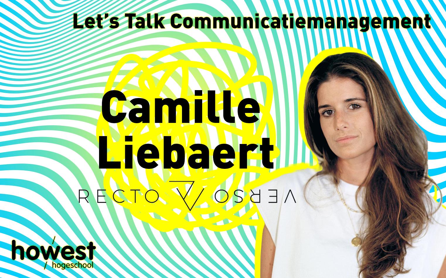 foto van Camille Liebaert voor Let's Talk Communicatiemanagement